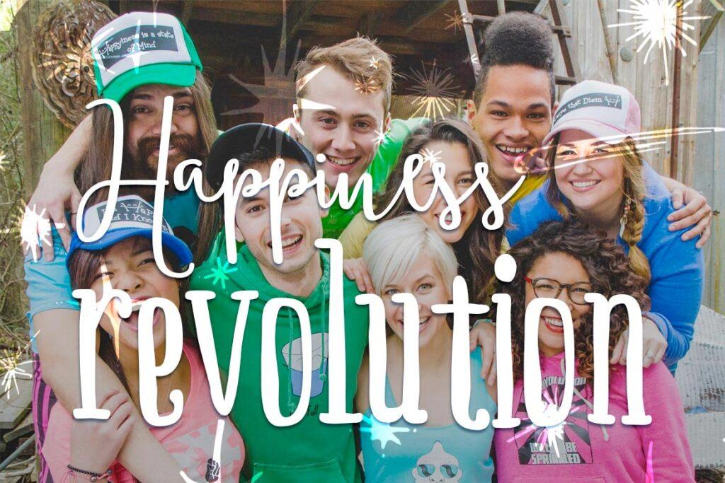 happy for no good reason - happiness revolution