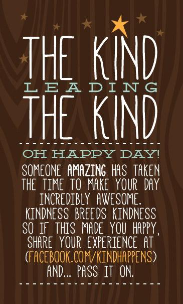 kind leading kind